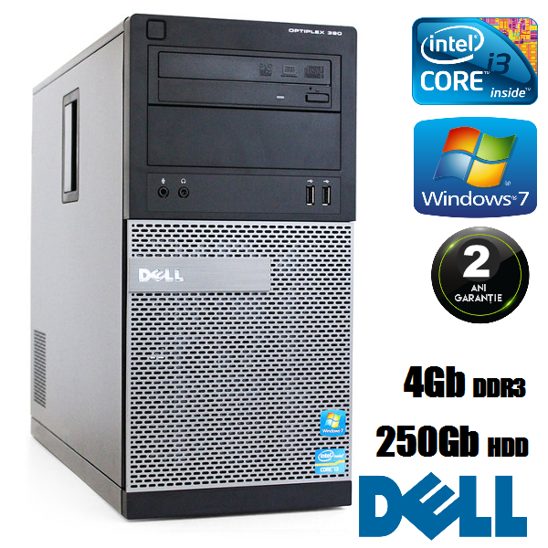 Calculator Small Form Dell Optiplex 790 Intel Core i3
