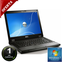 Laptop DELL Latitude E6410, Intel Core i5 560M 2.67 Ghz, 2 GB DDR3, 160 GB HDD SATA, DVDRW, Wi-Fi, Windows 7 Pro