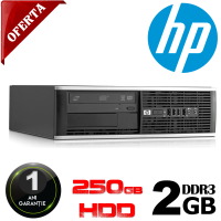 Calculator HP Compaq 6000 Pro Desktop | Intel Dual CORE E5500, 2.8 GHz | 2 GB DDR 3 | 250GB SATA | DVD-RW
