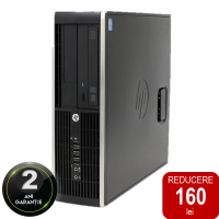 Calculator SFF RECONDITIONAT HP Compaq Pro 6300 Intel Core i5-3470 gen.3-a 3.2GHz, 4GB RAM, 500GB HDD, DVD-RW